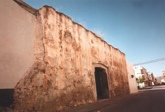 Fragmento de la muralla de Moncofa