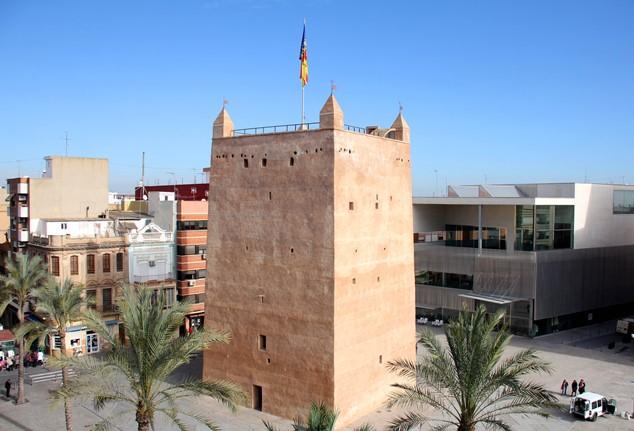 Torre árabe del siglo XII de torrent
